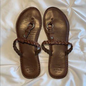 A&F sandals
